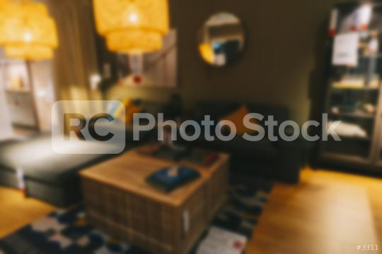 Blurred Living Room with Couches and Retro Instagram Style Filter  : Stock Photo or Stock Video Download rcfotostock photos, images and assets rcfotostock | RC-Photo-Stock.: