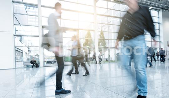 Blurred people at a modern floor  : Stock Photo or Stock Video Download rcfotostock photos, images and assets rcfotostock | RC-Photo-Stock.: