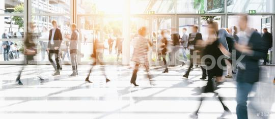 blurred people in a modern hall  : Stock Photo or Stock Video Download rcfotostock photos, images and assets rcfotostock | RC-Photo-Stock.: