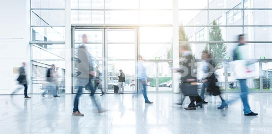 Blurred people in business center  : Stock Photo or Stock Video Download rcfotostock photos, images and assets rcfotostock   RC-Photo-Stock.: