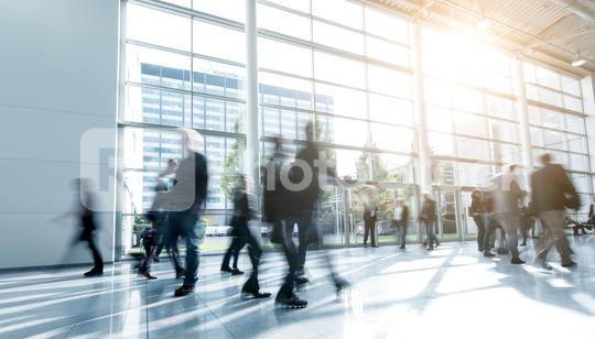 blurred people walking in a modern hall  : Stock Photo or Stock Video Download rcfotostock photos, images and assets rcfotostock   RC-Photo-Stock.: