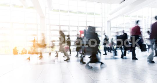 blurred people walking in a modern hall  : Stock Photo or Stock Video Download rcfotostock photos, images and assets rcfotostock | RC-Photo-Stock.: