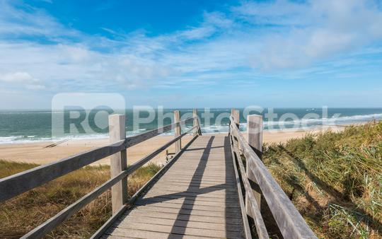 Boardwalk to the beach in domburg, North Holland, Netherlands  : Stock Photo or Stock Video Download rcfotostock photos, images and assets rcfotostock   RC-Photo-Stock.: