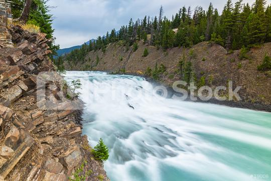 Bow Falls at the banff national park canada  : Stock Photo or Stock Video Download rcfotostock photos, images and assets rcfotostock | RC-Photo-Stock.: