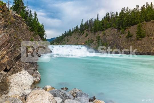 Bow waterfalls in banff national park canada  : Stock Photo or Stock Video Download rcfotostock photos, images and assets rcfotostock | RC-Photo-Stock.:
