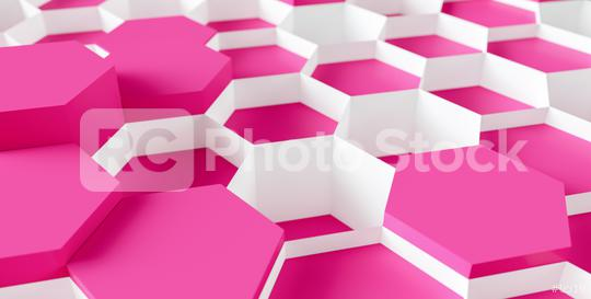 bright pink Hexagon honeycomb Background - 3D rendering - Illustration  : Stock Photo or Stock Video Download rcfotostock photos, images and assets rcfotostock | RC-Photo-Stock.: