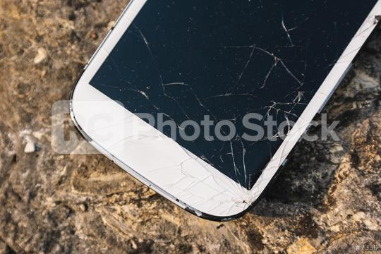 Broken Screen Smartphone   : Stock Photo or Stock Video Download rcfotostock photos, images and assets rcfotostock | RC-Photo-Stock.: