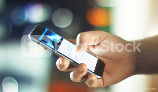 Business Man using Apple iPhone 6s in Office  : Stock Photo or Stock Video Download rcfotostock photos, images and assets rcfotostock | RC-Photo-Stock.: