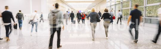 Business people at office entrance on the move  : Stock Photo or Stock Video Download rcfotostock photos, images and assets rcfotostock | RC-Photo-Stock.: