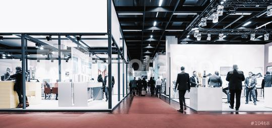 business people walking between trade show booths. ideal for websites and magazines layouts  : Stock Photo or Stock Video Download rcfotostock photos, images and assets rcfotostock | RC-Photo-Stock.: