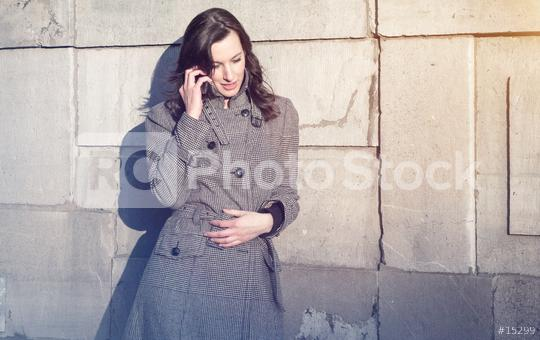 Businesswoman use her mobile phone  : Stock Photo or Stock Video Download rcfotostock photos, images and assets rcfotostock   RC-Photo-Stock.: