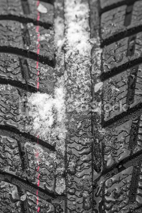Car tires close-up Winter wheel profile structure with snow on white background  : Stock Photo or Stock Video Download rcfotostock photos, images and assets rcfotostock | RC-Photo-Stock.: