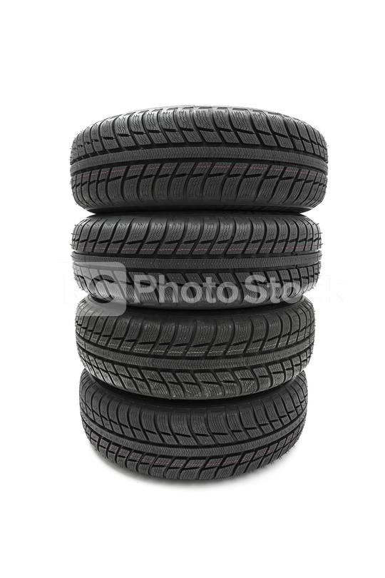 Car tires mature stack close-up Winter wheel profile structure on white background  : Stock Photo or Stock Video Download rcfotostock photos, images and assets rcfotostock   RC-Photo-Stock.: