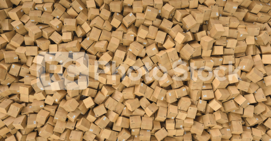 Cardboard boxes, logistics and delivery concept.  : Stock Photo or Stock Video Download rcfotostock photos, images and assets rcfotostock | RC-Photo-Stock.: