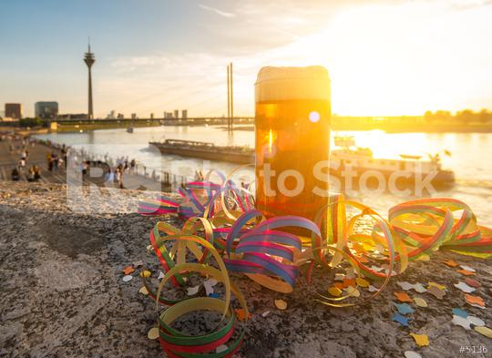 carnival at dusseldorf with old beer (Altbier)  : Stock Photo or Stock Video Download rcfotostock photos, images and assets rcfotostock | RC-Photo-Stock.:
