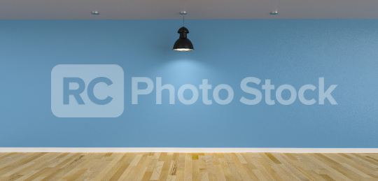 ceiling lamps in front of blue wall as canvas mock up design, copyspace for your individual text.  : Stock Photo or Stock Video Download rcfotostock photos, images and assets rcfotostock | RC-Photo-Stock.: