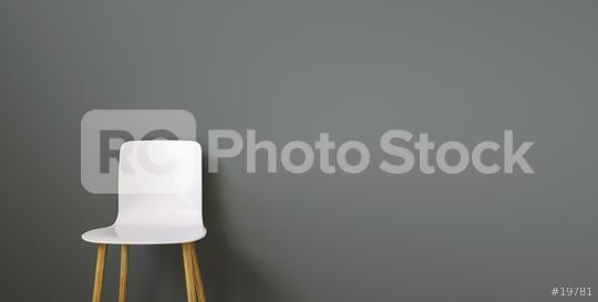 chair in a waiting room of a office in front of a black wall, with copy space for individual text   : Stock Photo or Stock Video Download rcfotostock photos, images and assets rcfotostock | RC-Photo-Stock.: