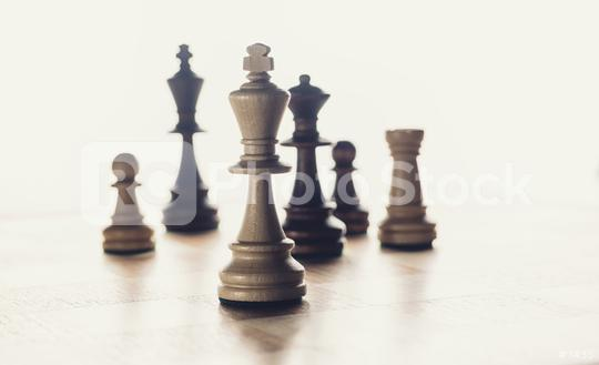 Chess business concept, leader & success  : Stock Photo or Stock Video Download rcfotostock photos, images and assets rcfotostock   RC-Photo-Stock.: