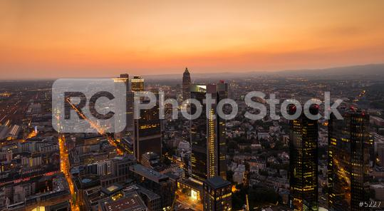 Cityscape of Frankfurt, at sunset germany  : Stock Photo or Stock Video Download rcfotostock photos, images and assets rcfotostock | RC-Photo-Stock.: