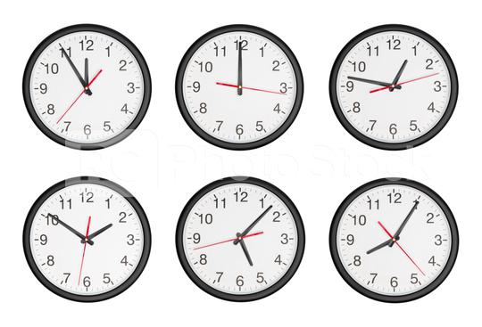 classic black and white round wall clock set collage  : Stock Photo or Stock Video Download rcfotostock photos, images and assets rcfotostock | RC-Photo-Stock.: