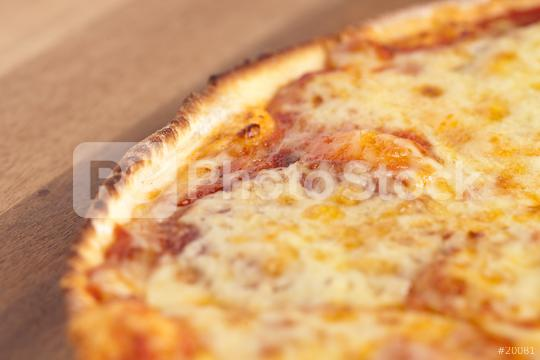 Close-up from a salami pizza  : Stock Photo or Stock Video Download rcfotostock photos, images and assets rcfotostock   RC-Photo-Stock.:
