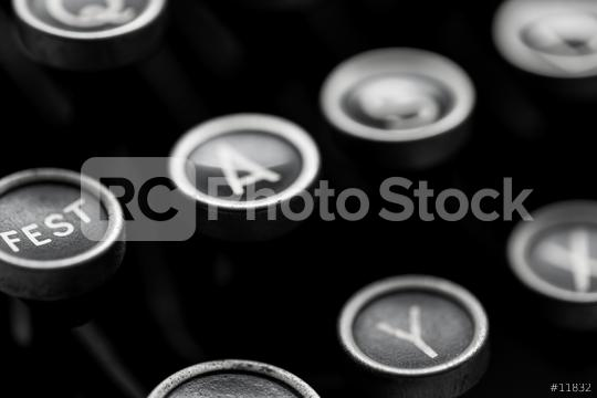 closeup from typewriter keys  : Stock Photo or Stock Video Download rcfotostock photos, images and assets rcfotostock | RC-Photo-Stock.: