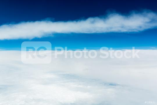 Clouds and blue sky at the stratosphere   : Stock Photo or Stock Video Download rcfotostock photos, images and assets rcfotostock | RC-Photo-Stock.: