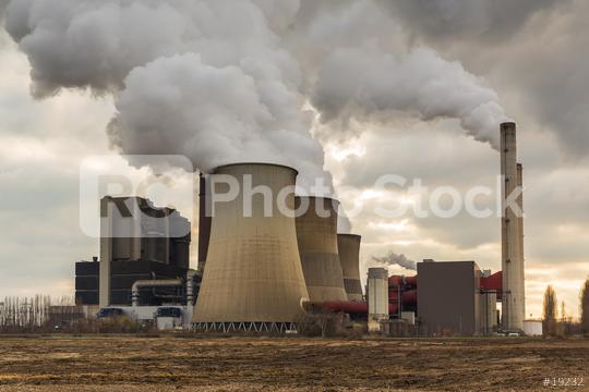 Coal power plant with cloudy sky  : Stock Photo or Stock Video Download rcfotostock photos, images and assets rcfotostock | RC-Photo-Stock.: