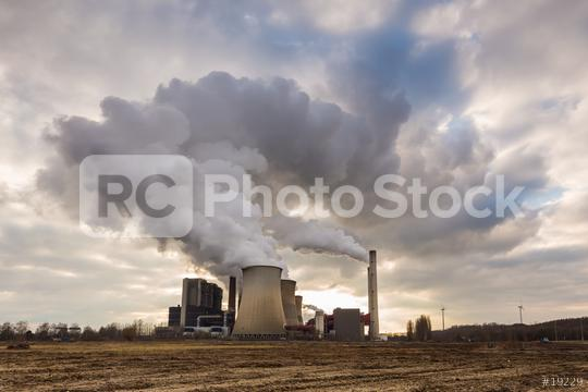 Coal-fired power plant nature pollution  : Stock Photo or Stock Video Download rcfotostock photos, images and assets rcfotostock | RC-Photo-Stock.: