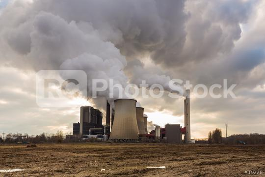 Coal-fired power plant with cloudy sky  : Stock Photo or Stock Video Download rcfotostock photos, images and assets rcfotostock   RC-Photo-Stock.: