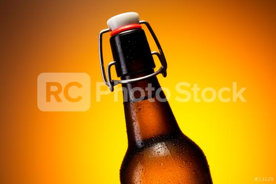 Cold beer bottle with dew drops  : Stock Photo or Stock Video Download rcfotostock photos, images and assets rcfotostock | RC-Photo-Stock.: