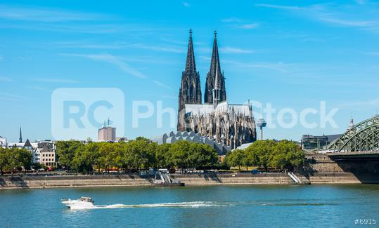 cologne cathedral Germany at the Rhine River  : Stock Photo or Stock Video Download rcfotostock photos, images and assets rcfotostock | RC-Photo-Stock.: