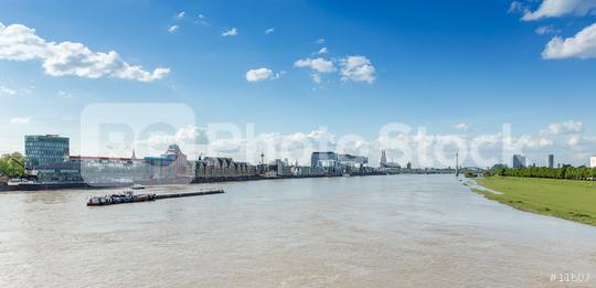 Cologne city skyline panorama at the rhine river  : Stock Photo or Stock Video Download rcfotostock photos, images and assets rcfotostock | RC-Photo-Stock.: