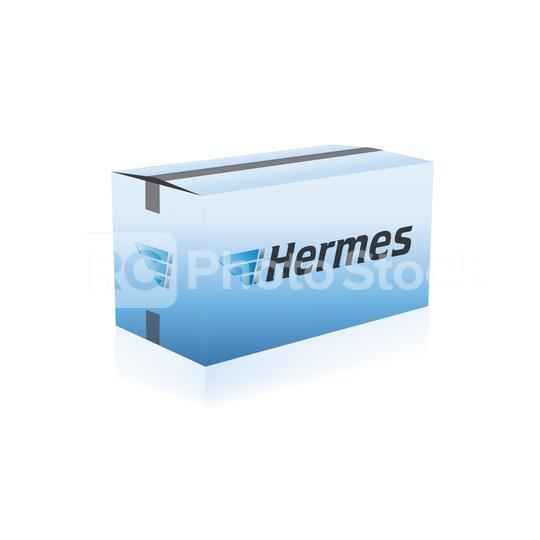 COLOGNE, GERMANY November, 2010: Hermes Package delivery packaging service and parcels transportation. Hermes is Germany
