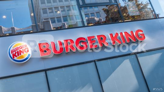 COLOGNE, GERMANY OCTOBER, 2017: Burger King sign on a store. Burger King, often abbreviated as BK, is a global chain of hamburger fast food restaurants,United States.  : Stock Photo or Stock Video Download rcfotostock photos, images and assets rcfotostock | RC-Photo-Stock.: