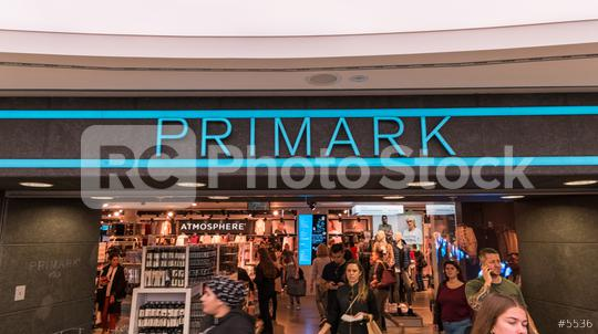 COLOGNE, GERMANY OCTOBER, 2017: Primark store. Primark is an Irish clothing retailer, operating in Austria, Belgium, Germany, Ireland, Portugal, Spain, the Netherlands and the UK.  : Stock Photo or Stock Video Download rcfotostock photos, images and assets rcfotostock | RC-Photo-Stock.: