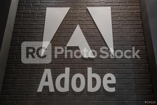 COLOGNE, GERMANY SEPTEMBER, 2018: Adobe Systems Logo. Adobe is a multinational software company that produces and sells multimedia and creativity software.  : Stock Photo or Stock Video Download rcfotostock photos, images and assets rcfotostock | RC-Photo-Stock.: