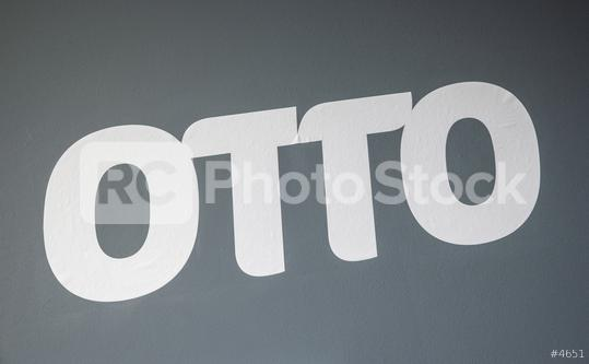 """COLOGNE, GERMANY SEPTEMBER, 2019: Logo of the Otto Group, formerly """"Otto Versand"""" one of the biggest e-commerce companies in Europe, The Company based in Hamburg, Germany  : Stock Photo or Stock Video Download rcfotostock photos, images and assets rcfotostock   RC-Photo-Stock.:"""