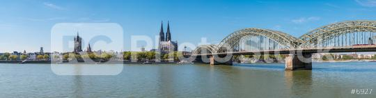 Cologne with Cologne Cathedral panorama  : Stock Photo or Stock Video Download rcfotostock photos, images and assets rcfotostock | RC-Photo-Stock.: