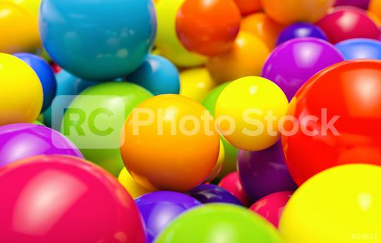 Colorful balls  : Stock Photo or Stock Video Download rcfotostock photos, images and assets rcfotostock | RC-Photo-Stock.: