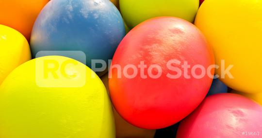 colorful easter eggs closeup - Easter concept image - 3D Rendering  : Stock Photo or Stock Video Download rcfotostock photos, images and assets rcfotostock   RC-Photo-Stock.: