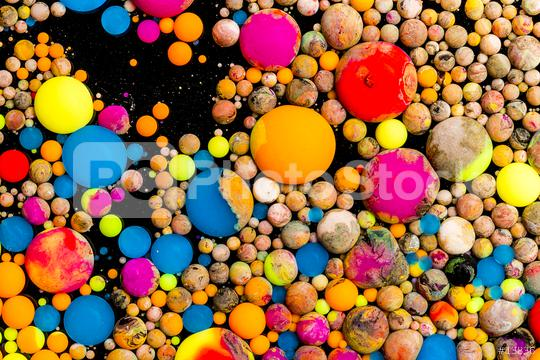 Colorful ink balls  : Stock Photo or Stock Video Download rcfotostock photos, images and assets rcfotostock | RC-Photo-Stock.: