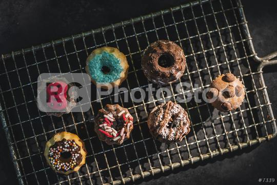 Cookie on a Cooling Rack   : Stock Photo or Stock Video Download rcfotostock photos, images and assets rcfotostock | RC-Photo-Stock.: