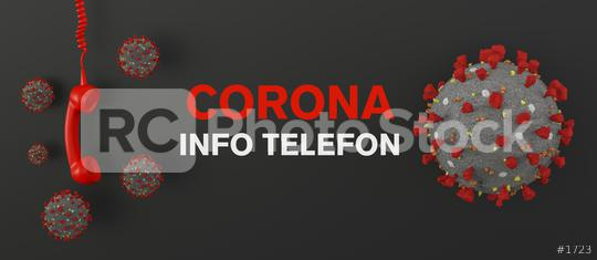 Corona Hotline, red phone hotline - calling for information about Coronavirus disease COVID-19  : Stock Photo or Stock Video Download rcfotostock photos, images and assets rcfotostock | RC-Photo-Stock.: