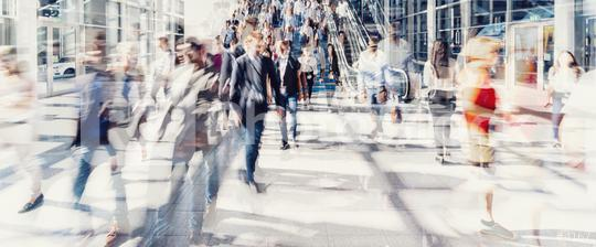 Crowd of anonymous people walking on busy city street  : Stock Photo or Stock Video Download rcfotostock photos, images and assets rcfotostock | RC-Photo-Stock.: