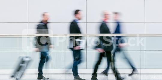 crowd of blurred anonymous commuter walking in a floor  : Stock Photo or Stock Video Download rcfotostock photos, images and assets rcfotostock   RC-Photo-Stock.: