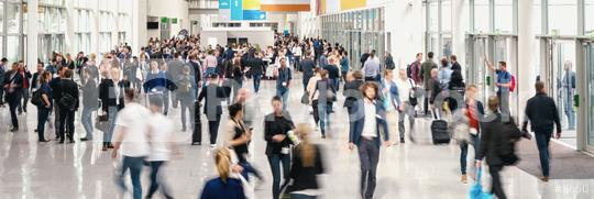 crowd of Blurred business people at a expo  : Stock Photo or Stock Video Download rcfotostock photos, images and assets rcfotostock   RC-Photo-Stock.: