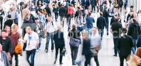 crowd of business people at a trade show  : Stock Photo or Stock Video Download rcfotostock photos, images and assets rcfotostock   RC-Photo-Stock.: