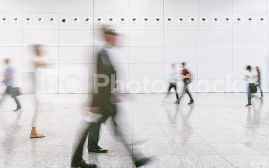 Crowd of people in a business center  : Stock Photo or Stock Video Download rcfotostock photos, images and assets rcfotostock | RC-Photo-Stock.: