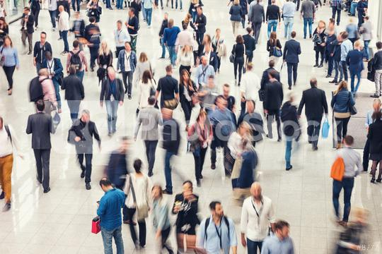 Crowd of people in a shopping center  : Stock Photo or Stock Video Download rcfotostock photos, images and assets rcfotostock | RC-Photo-Stock.: